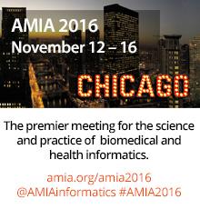 AMIA 2016 Annual Symposium