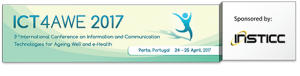 3rd International Conference on Information and Communication Technologies for Ageing Well and e-Health @ Holiday Inn Porto Gaia | Vila Nova de Gaia | Porto | Portugal