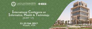 International Conference on Informatics, Health & Technology @ King Saud bin Abdulaziz University of Health Sciences. | Riyadh | Riyadh Province | Saudi Arabia