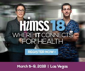 HIMSS 2018 @ VENETIAN-PALAZZO SANDS EXPO CENTER | Las Vegas | Nevada | United States